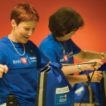 BMO Financial Group photo: Participants in BMO Volunteer Day package up