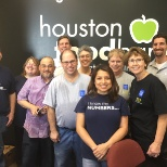 Baylor College of Medicine photo: BCM volunteers at Houston Food Bank