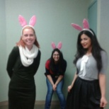 photo of TD, Easter in work place