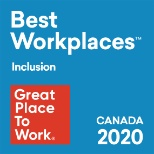 Rome was recently listed on the 2020 list of Best Workplaces for Inclusion!