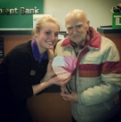Our oldest customer here at TD BANK, he is 100 years old!