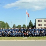 Staff Cadet group photo on the night of our mess dinner.