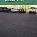Dollar tree outside of my location