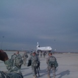 Leaving for second tour to Iraq