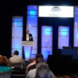 PAREXEL photo: Xavier Flinois, President of PAREXEL Informatics, provides a market update at our annual Informatics