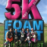 Middle TN reps competing in the 5K Foam Run