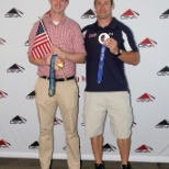 CEVA Logistics photo: Met with U.S. Olympic Bobsled gold Medalist, Curtis Tomasevicz, at work.