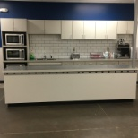 Remodeled associate breakroom