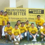 Western Union photo: Volunteer
