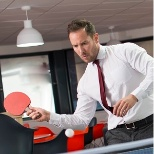Table Tennis at Compass Associates HQ