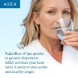 ASEA photo: ASEA provides your body what it needs to stay active and healthy longer.