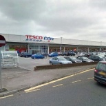 Tesco photo: View from outside