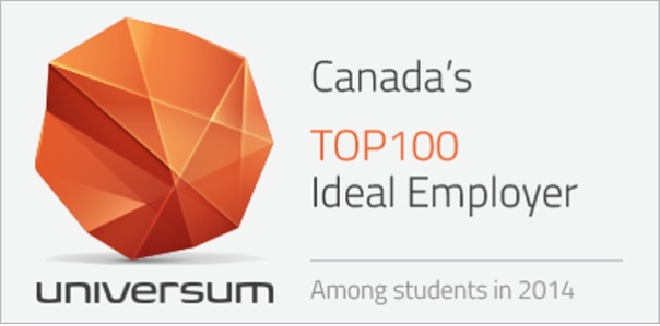 2014 Universum Ideal Employer Award