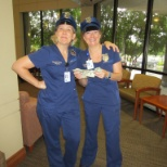 Cops and robbers during Nurse's Week