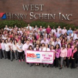 Henry Schein photo: Henry Schein's Think Pink Day at HQ!