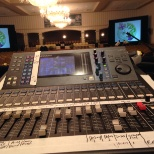 My live sound gig with the AME church at the Sheraton City Center.  Console - LS9 16