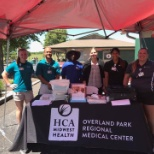 HCA MidWest Health photo: Our sports medicine team providing young athletes with sports physicals