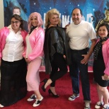 Orthopedics team as Greece for Hollywood themed event
