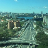 The breathtaking view from our offices in Sydney.