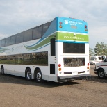 Strathcona County Tra has the only double decker buses of any Transit Authority in Alberta