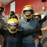 Team building and go-carting