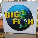 Big Fish photo: Felix, our mascot, is a Seahawks fan, too!