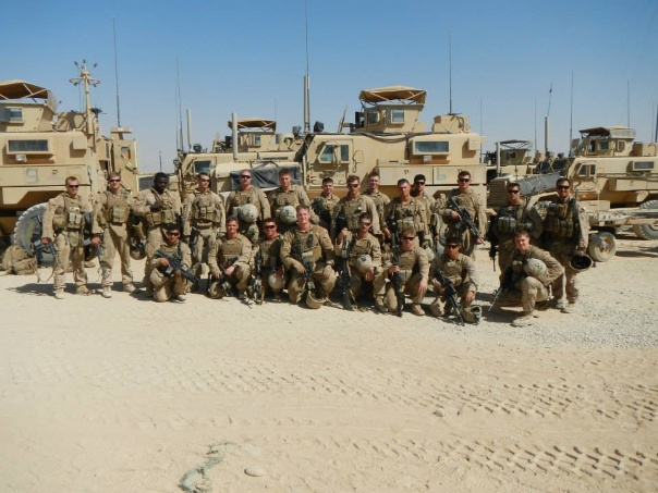 3rd platoon of Fox Company 2nd Battalion 2nd Marines