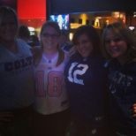 Working Colts games at Greenfield Applebee's Neighborhood Bar and Grill