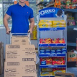 Mondelez International photo: Merchandiser