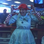 Fun for Halloween ( another Wendy) for our Wendy's restaurant !