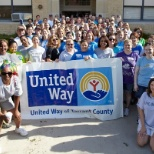 Pier 1 Imports associate participate in the 2013 United Way Day of Action.