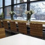 Employee cafeteria at Teva offices