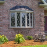 We offer a wide selection of window types, including bays and bows.