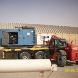 LOADING GENERATORS TO BE PUT ONLINE