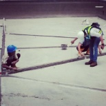 Quality Control Finishing - Lotte Engineering & Construction, Co. Ltd - Kasablanka 3(prepare screed)