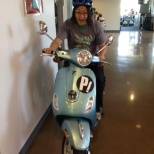 Moped...in the office?