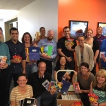 Employees at HQ held a successful Back to School Drive for Communities In Schools.