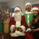 Christmas time at Overland Park Regional Medical Center