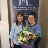 North Dublin care manager with one of our lovely carers