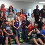 BlueGrace Logistics photo: Show your team pride! #BackToFootball Day at BlueGrace Logistics.