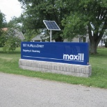 maxill inc. photo: 181 North Mecca Street Entrance in Cortland Ohio