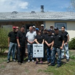 Elkay Manufacturing Company photo: Aurora CO team helps repair and rebuild housing for local seniors.