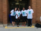 Team HR heading out to do their Ice Bucket Challange