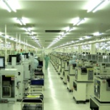 ON Semiconductor photo: Production area
