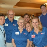 Lutheran Senior Services photo: Volunteering together to make a difference in the live of older adults.