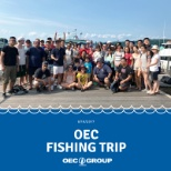 OEC Group photo: OEC Group celebrates the great summer weather with a company fishing trip!