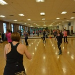 YMCA photo: Group Exercise Space