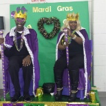 Mardi Gras King and Queen