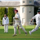Goodwood photo: Cricket at Goodwood House