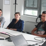 Bulgaria interns meet the country leadership team
